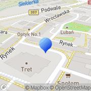Mapa Folda  K. Jęz. niemiecki  Lubań, Polska