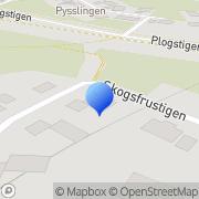 Karta Dala Mark & Vägutbildning AB Borlänge, Sverige