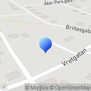 Karta Verbator Borlänge, Sverige