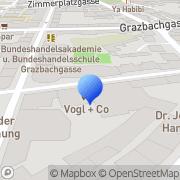 Karte Oskar Vogl + Co Autovertriebs- u. Leasinggesellschaft mbH Graz, Österreich
