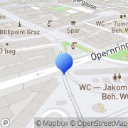 Karte Schalltrichter Tonstudios Graz, Österreich