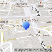 Mapa Mularczyk W. Cukiernia Zielona Góra, Polska