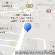 Mapa Pineh s.c. Bolesławiec, Polska