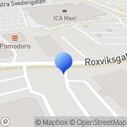 Karta Dataisol Linköping, Sverige