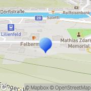 Karte Wagner Druck Lilienfeld, Österreich