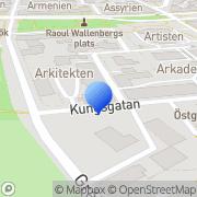 Karta Steek Consulting Linköping, Sverige