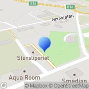 Karta Jade Europa Sten Bolaget Falun, Sverige