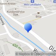 Karte Landring Weiz Lagerhausgenossenschaft Weiz, Österreich