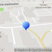 Karta Finoren Linköping, Sverige