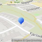 Karta Jurist- & Affärsbyrån SGS Linköping, Sverige