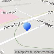 Karta Nordenström Steffenburg Agneta Fagersta, Sverige