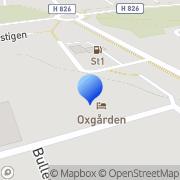 Karta Oxgården i Vimmerby AB Vimmerby, Sverige
