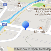 Karte Gottfried Marass Neulengbach, Österreich