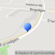 Karta Ch Gunnarsson Produkter Köping, Sverige