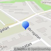 Karta Colldin Konsult Norrköping, Sverige