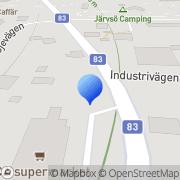 Karta Järvsö Taxi Järvsö, Sverige