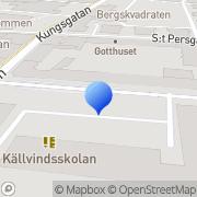Karta KOMVUX Norrköping, Sverige