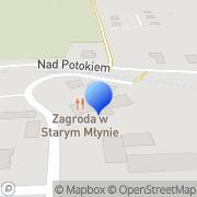 Map Zagroda w Starym Młynie Malá Čermná, Czech Republic