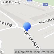 Karta Fiskarn Borgåsund Strömsholm, Sverige