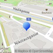 Karte Manus Massageschule Wien, Österreich