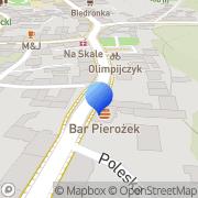Mapa Sokólski Paweł. Autoczęści Wałbrzych, Polska