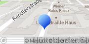 Karte Pensionistenklub - Kuratorium Wiener Pensionisten Wien, Österreich