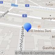 Karte Café Reimann Wien, Österreich