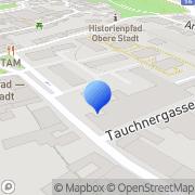 Karte Bezirkshauptmannschaft Tulln Außenstelle Klosterneuburg Klosterneuburg, Österreich