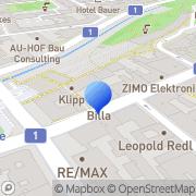 Karte Ketzerhof Wien, Österreich