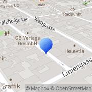 Karte Österreichische Gesellschaft für Gesundheitsförderung Wien, Österreich