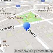 Karte Contemporary Gallery Wien, Österreich