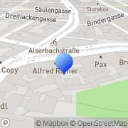 Karte Eisenhandlung Menzel Wien, Österreich
