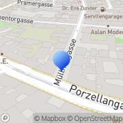Karte Kaleb Wien, Österreich