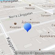 Karta Mickes Mediaproduktion Kalmar, Sverige