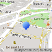 Karte Institut f technische Informatik d TU Wien Wien, Österreich
