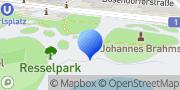 Karte Parklounge am Karlsplatz Wien, Österreich