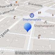 Karte Psychotherapeutische Praxis - Mag. Verena Sternbach Wien, Österreich