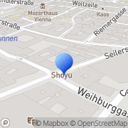 Karte Missio - Päpstliche Missionswerke in Österreich Wien, Österreich