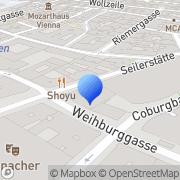 Karte Sustain Consulting Wien, Österreich