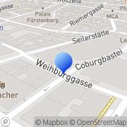 Karte Joh. Springer's Erben Wien, Österreich
