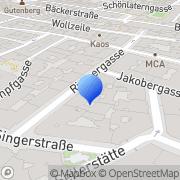 Karte Jazz & Musicclub Porgy & Bess Wien, Österreich