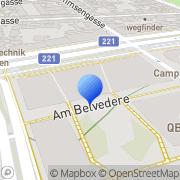 Karte Südbahnhof Wien, Österreich