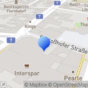 Karte Institut f Erziehungshilfe Wien, Österreich