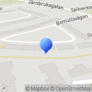 Karta Kj butiksservice Västerås, Sverige