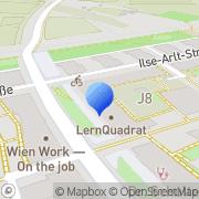 Karte LernQuadrat Nachhilfe Seestadt Wien, Österreich