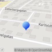 Karta Karl-Henrik Andersson Åkeri Eskilstuna, Sverige