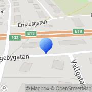 Karta Prestaworks AB Västerås, Sverige