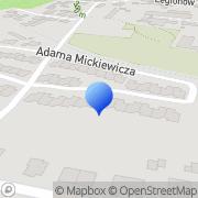 Mapa Dekorator Bielawa, Polska