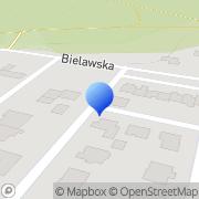 Mapa Mufka Zenon. slusarstwo Oborniki, Polska