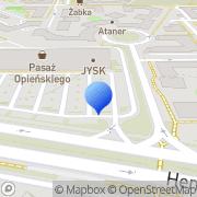 Mapa ZOO Piątkowo Poznań, Polska